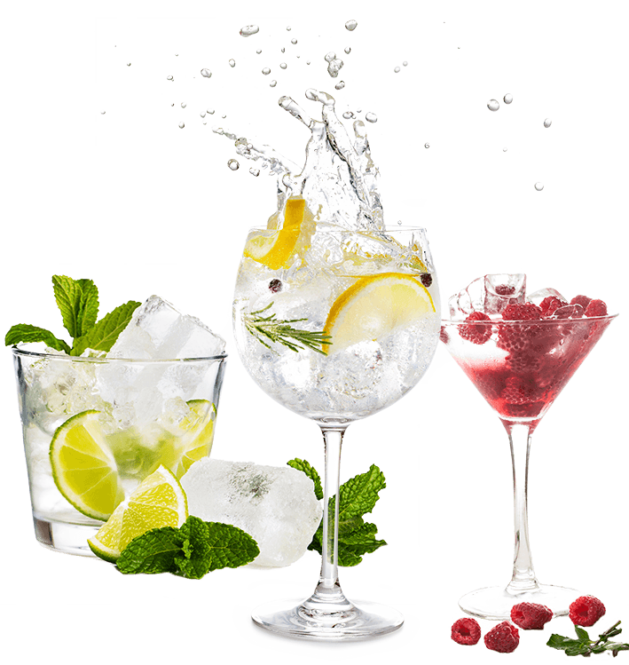 3 gins
