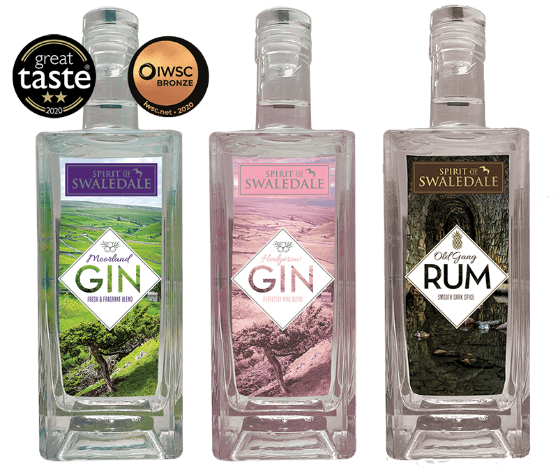 Spirit of Swaledale Gin and Rum